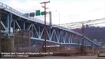 Senator robert d fleming bridge 62nd street bridge for Allegheny motors etna pa